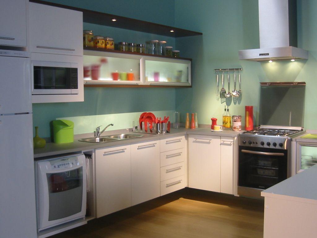 #67462A Cozinhas planejadas: Cozinhas pequenas planejadas 1024x768 px Armario De Cozinha Compacta De Canto #1943 imagens