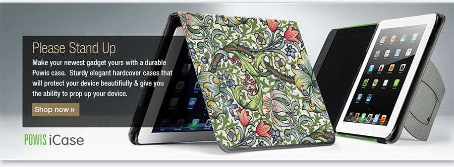 William Morris Powis iPad case with kickstand