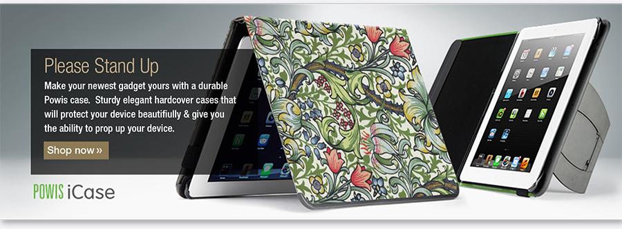 William Morris Powis iPad case with kickstand