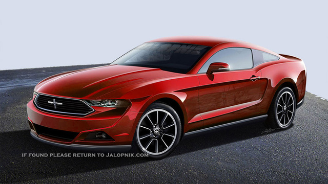 Here Is A Link To The Article Where I Got This Latest Mustang Render From Jalopnik Com  Ford Mustang Everything We Knowtag Ford