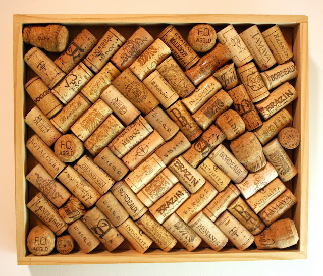Salubrious exclamation how to make a cork board out of for Wine cork patterns