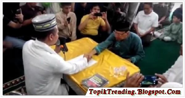 Pendeta Senior Jhony Mema Masuk Islam