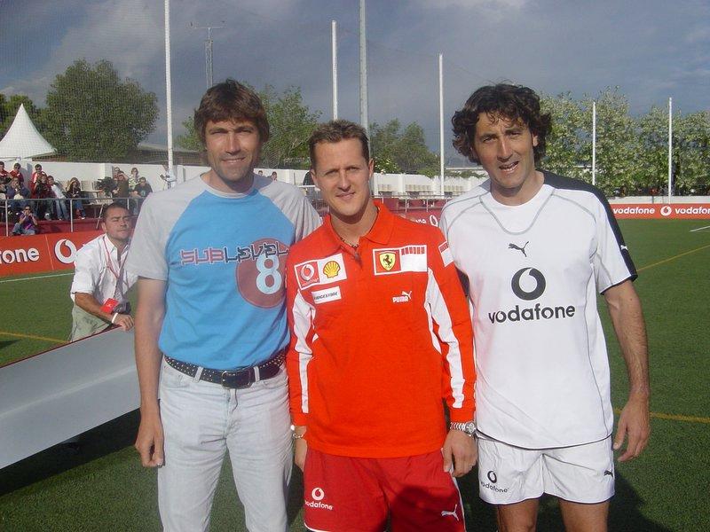 ¿Cuánto mide Michael Schumacher? - Altura - Real height Ju+060
