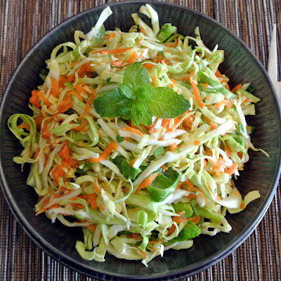 Gourmet Cooking For Two: Spicy Asian Slaw