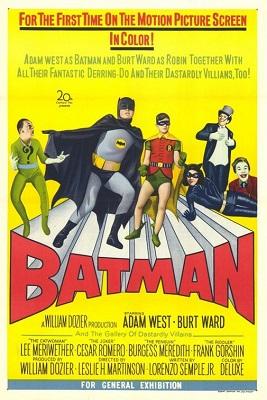 batman: the movie (1966) superhero movie