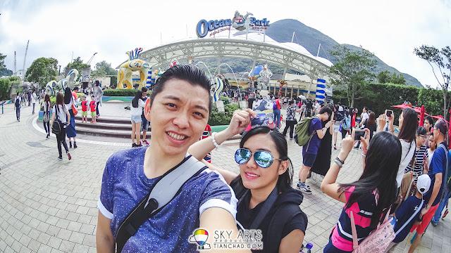 A must selfie photo when you reach Ocean Park Hong Kong