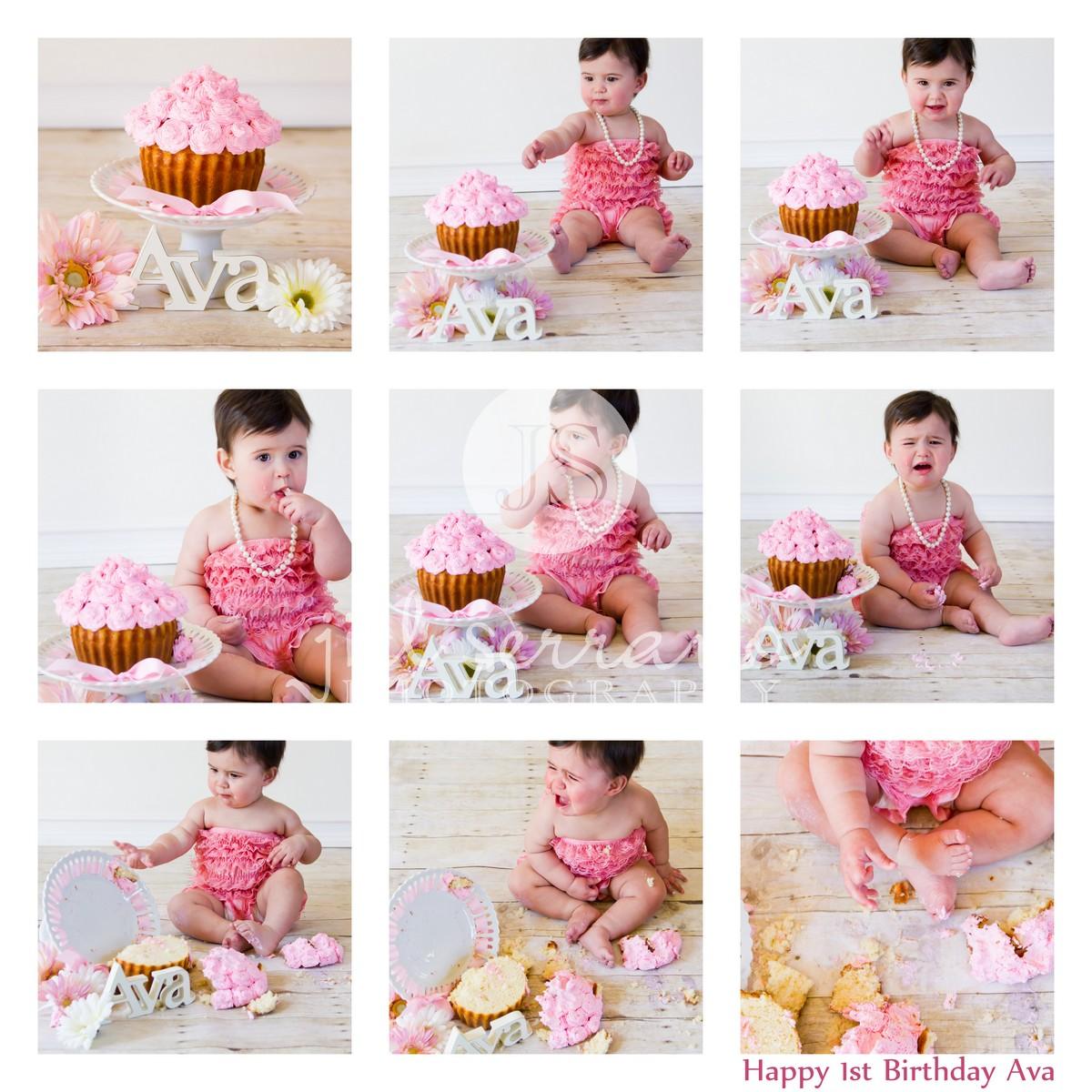Picnic Party: Girls 1st Birthday