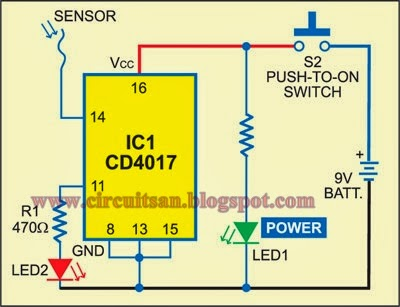 Led Scanner Circuit 220v Live Wire Scanner Circuit