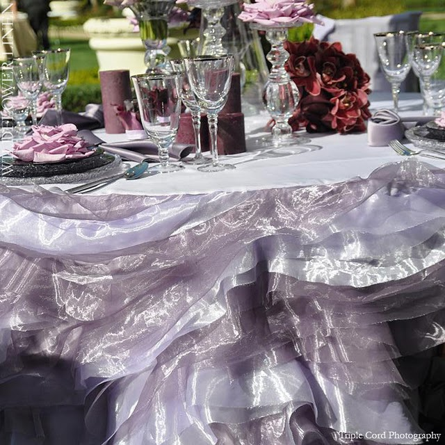 Layers of chiffon are a gorgeous addition to your festive table setting. Place several heights of crystal candlesticks on your table and add large rose ... & TABLE SETTING INSPIRATIONS PART II: IDEAS FOR DECORATING YOUR SUKKAH - .