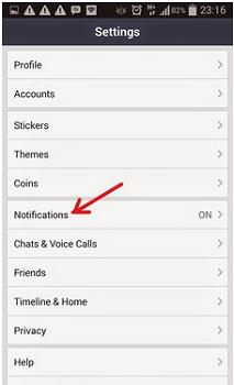 Cara Menonaktifkan Notifikasi Invite Game Di LINE