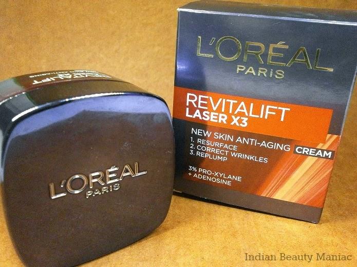 Loreal Paris Revitalift laser x3 cream review