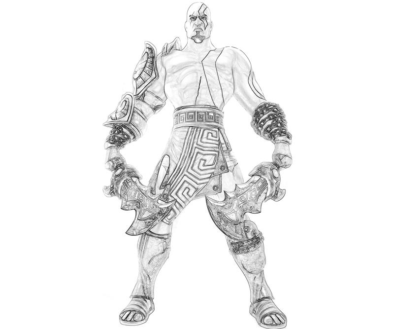 god of war coloring pages - photo#14