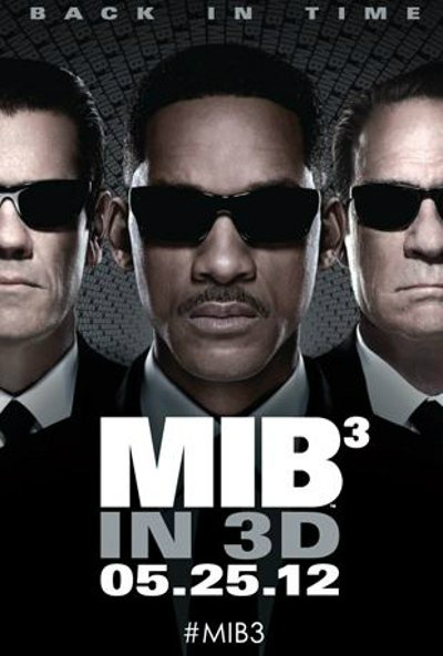 Poster de Men in Black 3 con Will Smith y Tommy Lee Jones