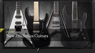 Jackson inclui oito novos modelos Pro Series