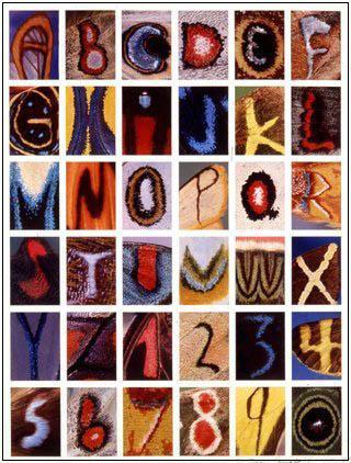 коллекция алфавитов alfabet