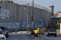 Checkpoint separating Bethlehem from Jerusalem