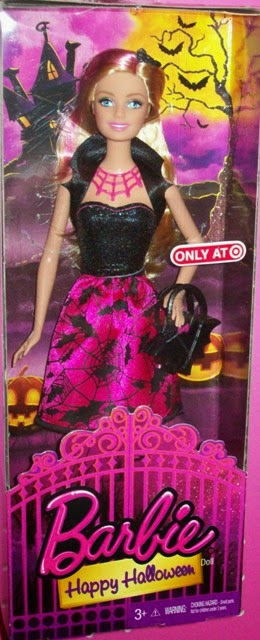 Target Exclusive Happy Halloween Barbie 2014