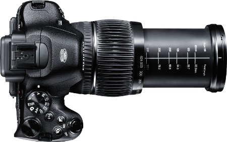 Fujifilm X-S1 Zoom Lens