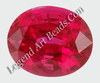 Pink spinel