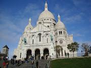 Basilica of the Sacré Cœur (paris montmartre )