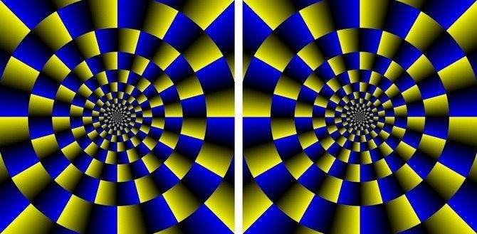 Educaci n estetica el movimiento en las artes pl sticas - Imagenes con trucos opticos ...
