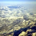 Fotografía tomada de un avión