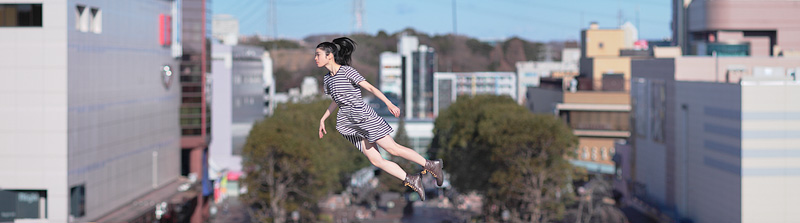 Natsumi Hayashi. Levitation