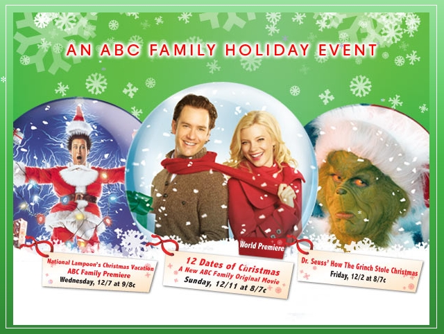 its a wonderful movie your guide to family and christmas movies on tv abc family christmas movie 12 dates of christmas - 12 Dates Of Christmas Movie