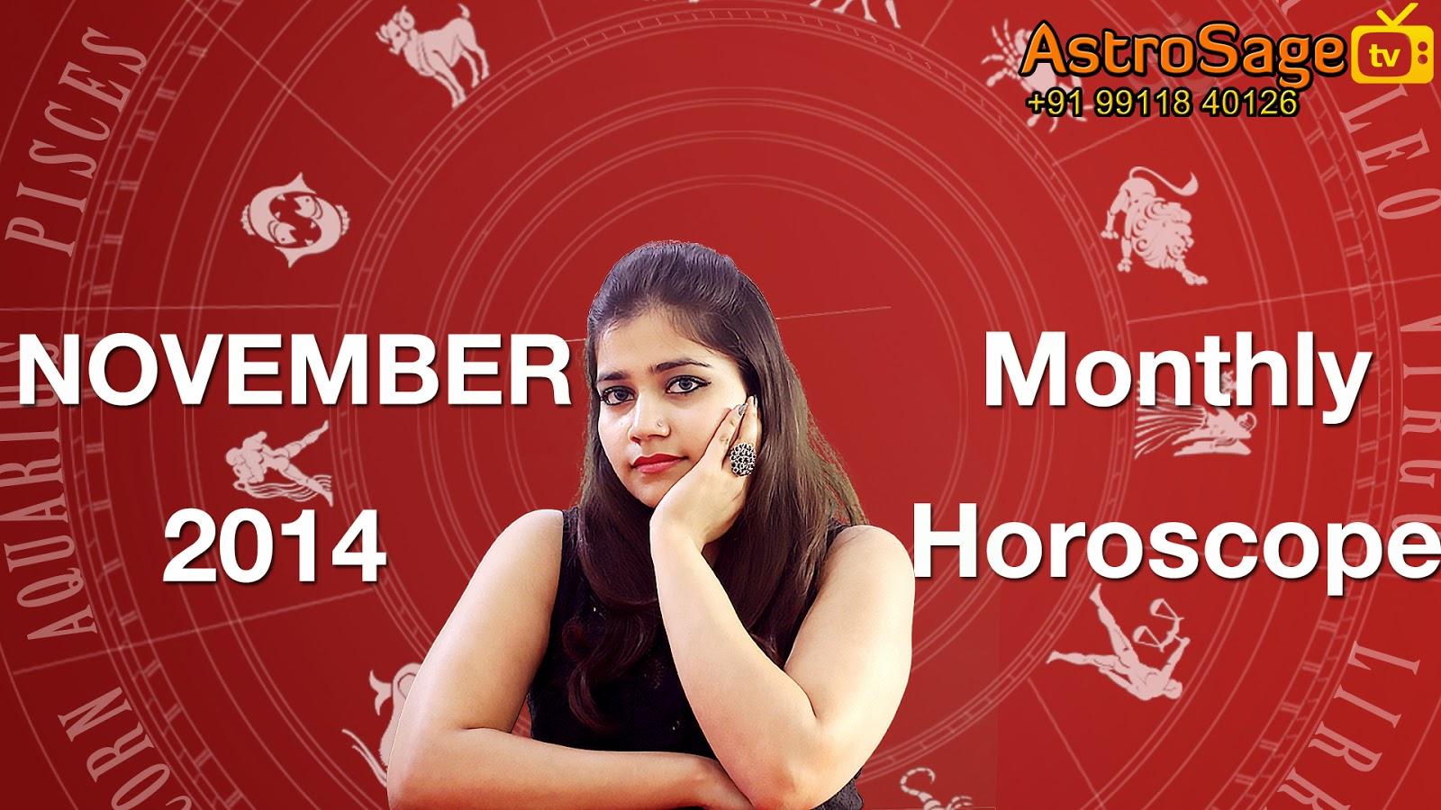 November 2014 Horoscope: November 2014 Astrology Predictions
