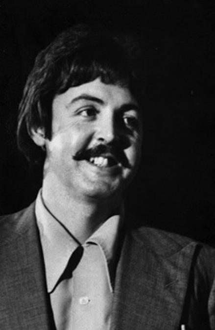 McCARTNEY PHOTO BLOG 70s Moustache