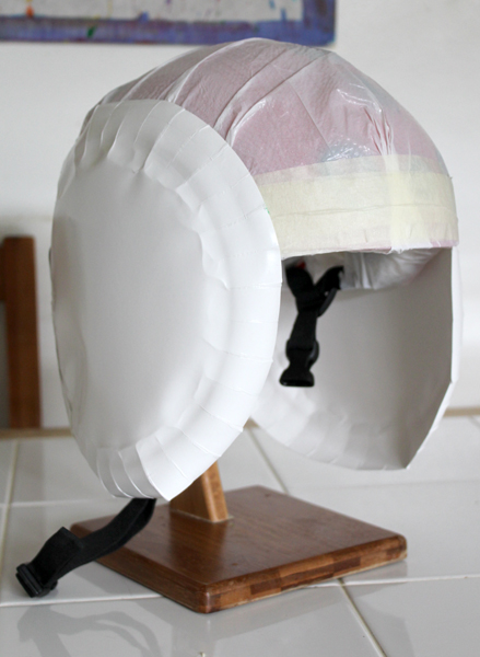 make your own astronaut helmet costume - photo #47