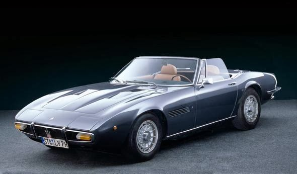 Maserati Ghibli Spyder (1970)