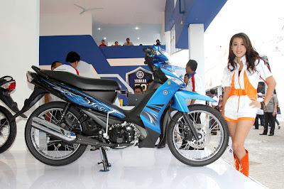 Yamaha Vega ZR 2011 Striping Baru