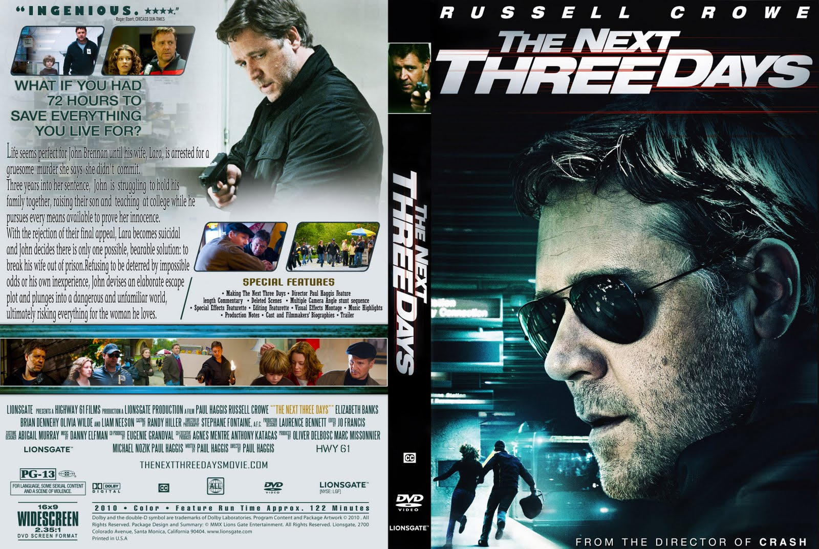Dvd Covers Free: The Next Three Days