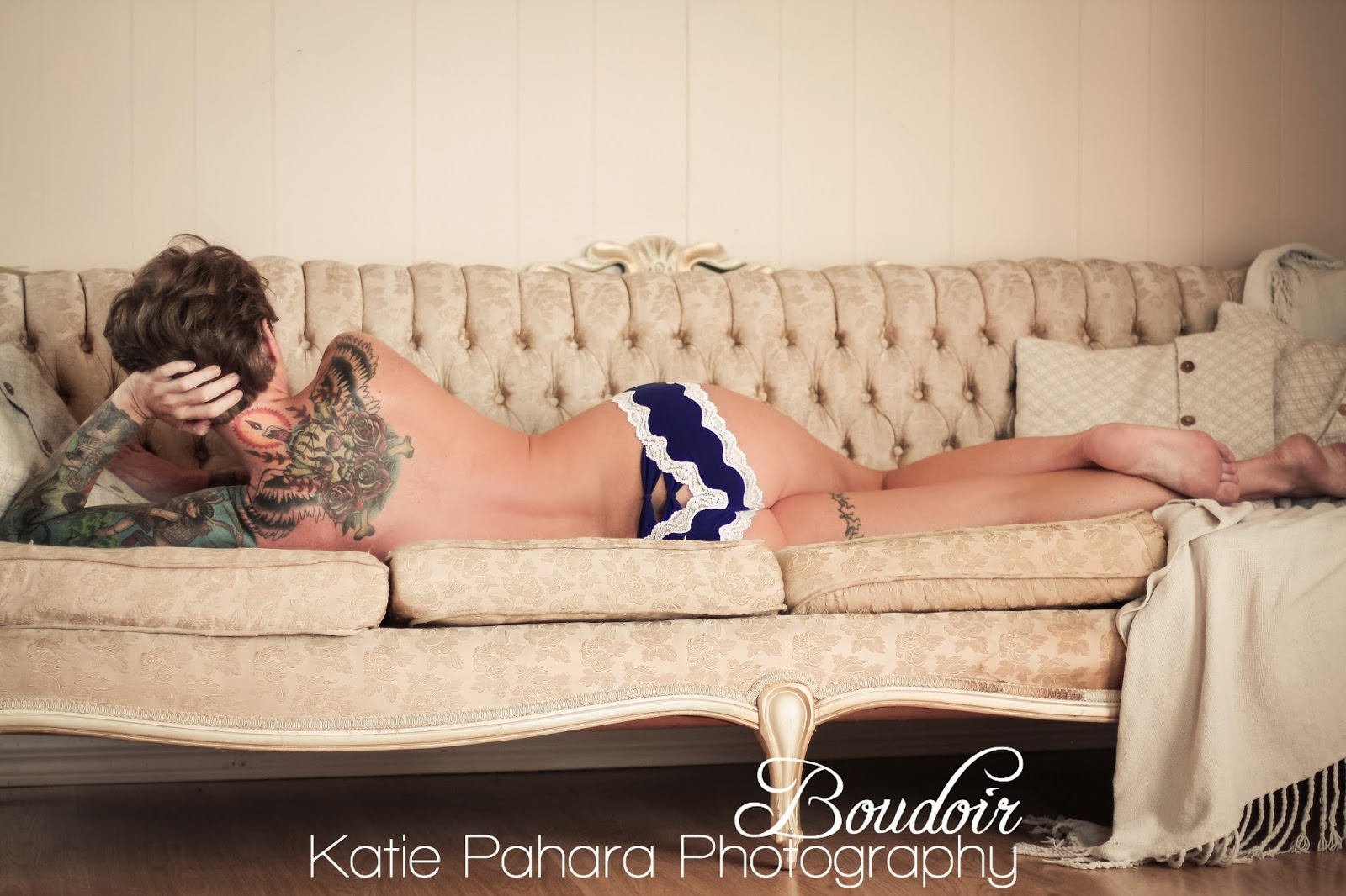 Tattoo Pinup Boudoir Photography