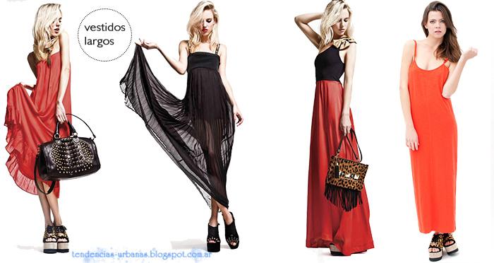 vestidos largos DelaOstia verano 2013