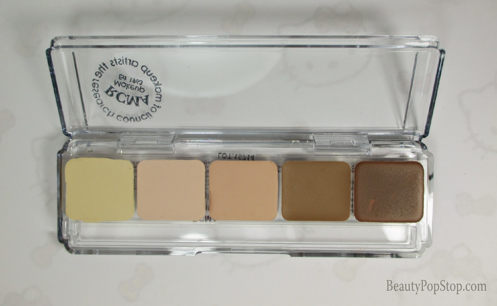 rcma highlight and contour palette review