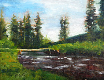 """Bridge over Salmon River"" - For Sale - Contact Warren"