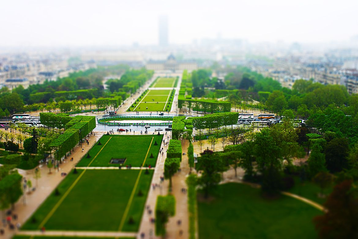 26. Photograph View from the Eiffel Tower by Tib Ciocirlie