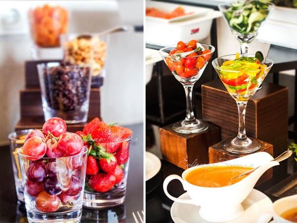 Breakfast at Executive Lounge Hilton Bandung