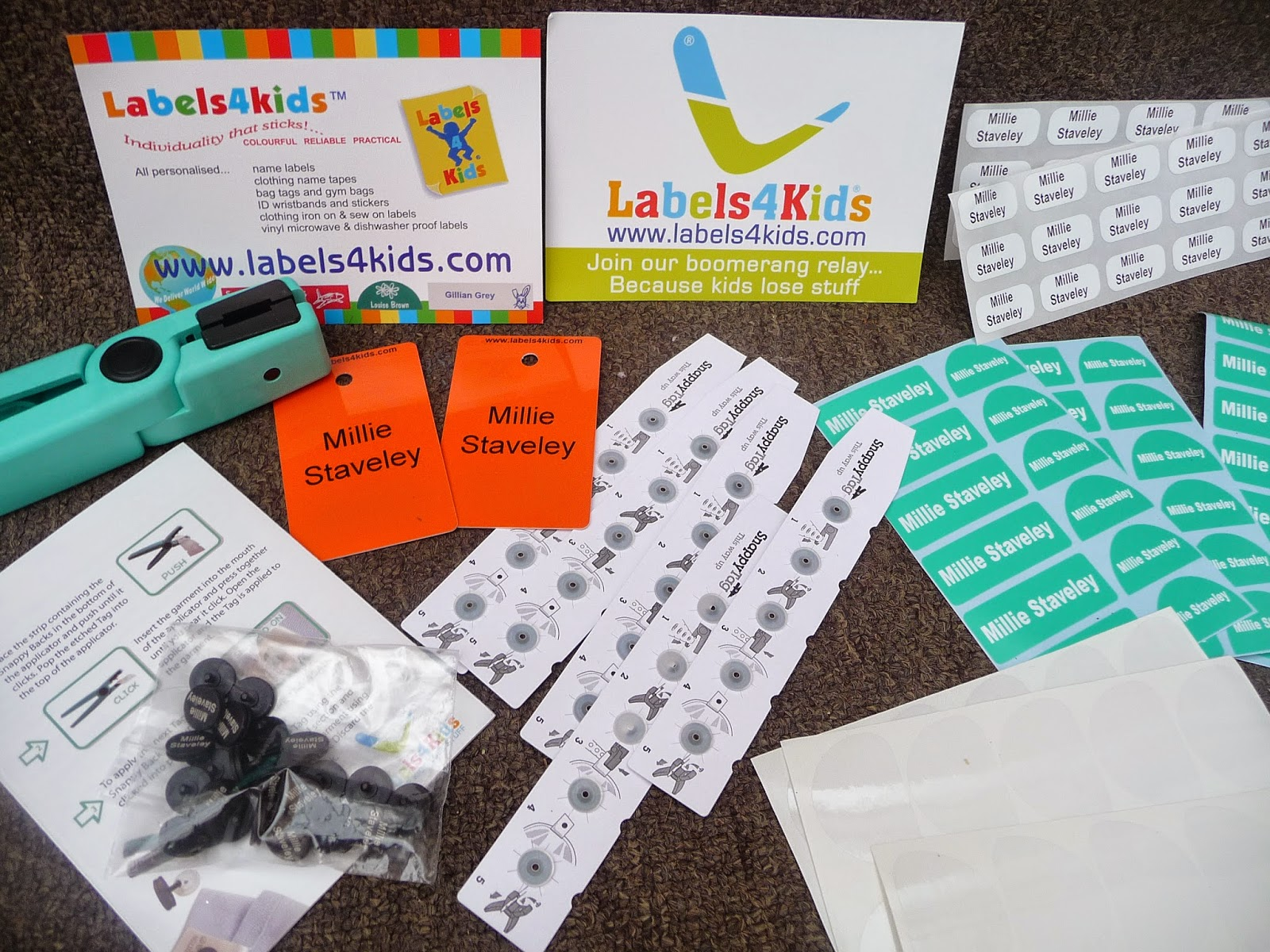 Labels 4 kids