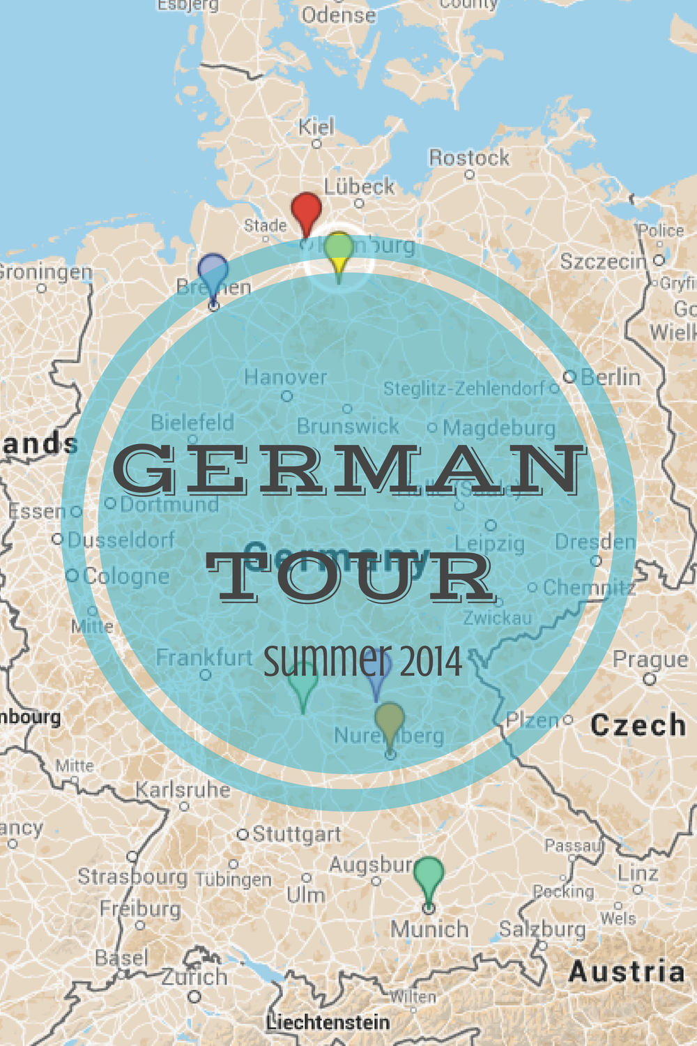 Summer Tour of Germany | Courtney the Ami