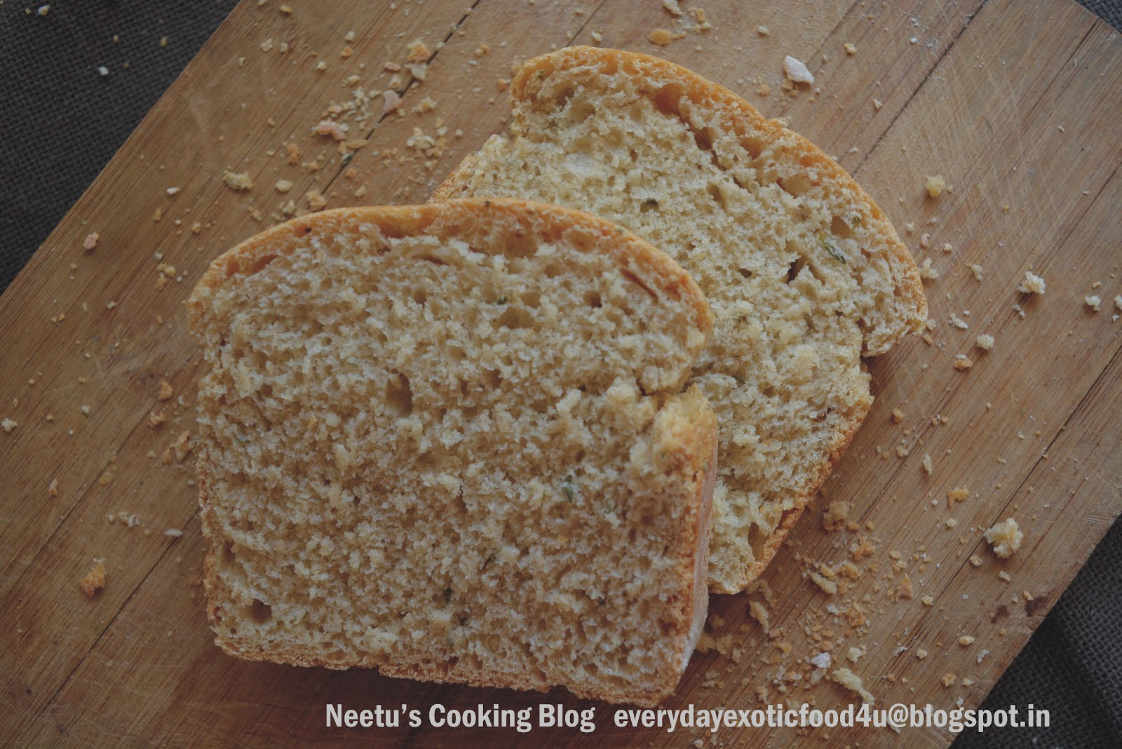 Whole wheat Rosemary bread