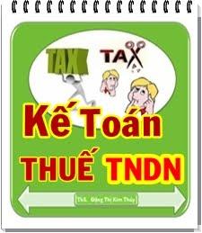 Kế Toán THUẾ TNDN