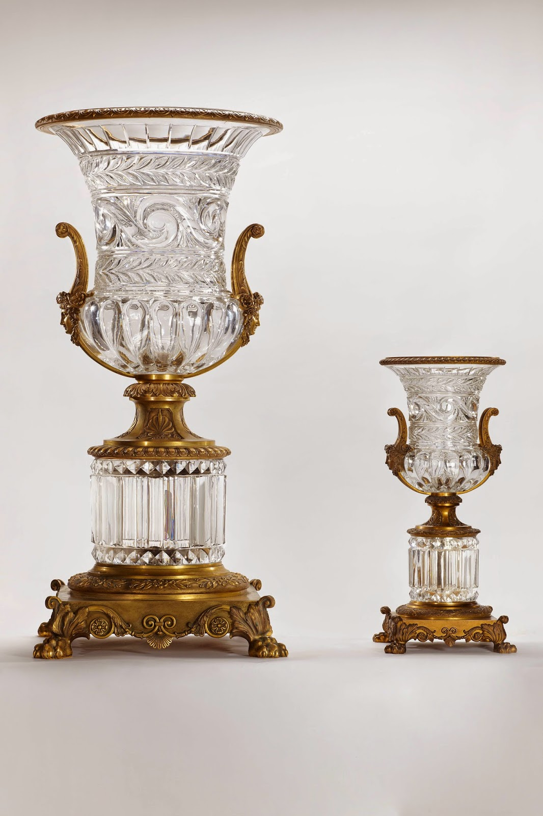 Viaggi e ricette parigi la l gende du cristal di baccarat for Vasi baccarat