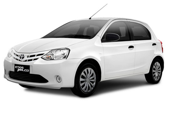 Toyota Etios Valco Warna Putih / White