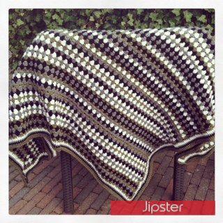 Made By Jipster Een Granny Stripe Deken Helemaal Voor Mezelf