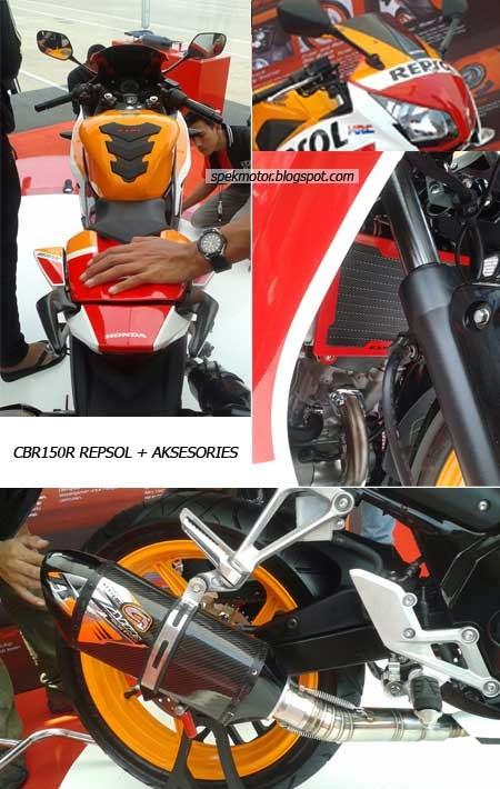 Aksesoris Honda CBR Lokal