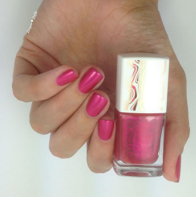 Catrice Lumination Cosmic Pink Nagellack