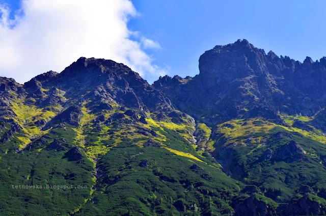 Tatry, fotografia, jesień w Tatrach